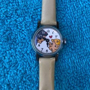 Vintage Snow White And Dopey Watch